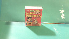 Barbie 1:6 Kitchen Food Miniature Handmade Box of Cereal Fruity Pebbles