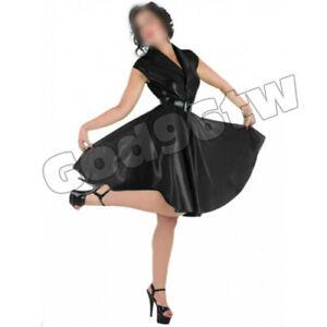 Schwarze Erotik Kleider Aus Latex Gunstig Kaufen Ebay