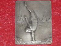 [Coll. Jean DOMARD SPORTS] MEDAILLE BRONZE 53e FETE FEDERALE 1931 EXPO COLONIALE