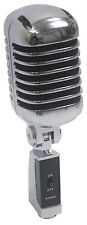 NJS290 PROFESSIONAL  RETRO STYLE MICROPHONE SILVER/BLACK