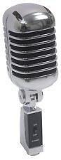 Micrófono Profesional NJS290 Estilo Retro Plata/Negro