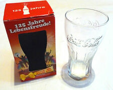 "Sammelglas Coca Cola ""125 Jahre Lebensfreude"" NEU OVP von 2011"