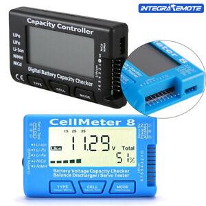 RC CellMeter-7 Battery Capacity Checker For NiMH Nicd LiFe LiPo Li-ion Meter