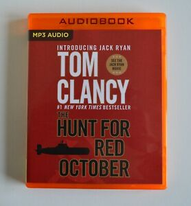 The Hunt for Red October - Tom Clancy - Unabridged Audio Book - MP3CD