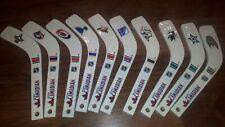 10 Molson Canadian NHL Mini Hockey Sticks