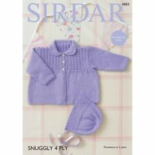 0cf9af0c6d73 Sirdar Baby 4 Ply Crocheting   Knitting Patterns