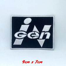 Ingen Jurassic Park Movie Iron on Sew on Embroidered Patch applique