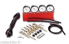 Dépressiomètre 4 Rampes AUTO/MOTO Carburateur / Moteur Neuf evec Garantie