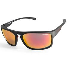 31b8916f868 Arnette Brapp AN4239 01 6Q Matte Black Red Mirror Men s Sports Sunglasses