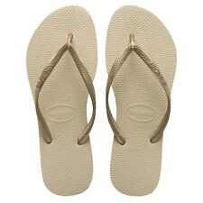 b27b0a1d089e8f Havaianas SLIM Flip Flop (Sand Grey Light Gold)