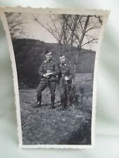 Ancienne photo militaire  11cm / 7 cm