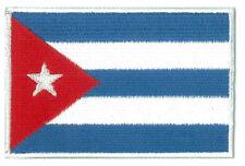 Patche Cuba écusson patch drapeau Cubain brodé thermocollant