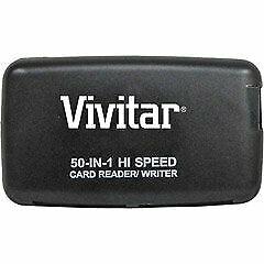 Vivitar Pocket Reader/Writer 50-In-1 Hi Speed Card Reader