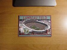 Lambeau Field Stadium Postcard Green Bay Packers NFL