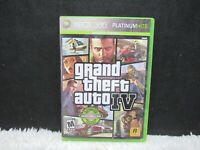 2008 XBox 360 Grand Theft Auto IV Microsoft Productions M For Mature Video Game