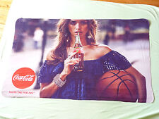 Coca Cola Lime blanket Tatse the Feeling 156x90cm used rare basketball bottle