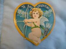 M111 - Lot Of Ten Vintage Valentines Including 2 Stand-Up Fold Outs