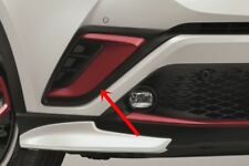 TOYOTA CHR 2018 GENUINE FRONT BUMPER GARNISH RED