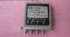 used 85685-60074 Agilent Rf coaxial switch Dc to 18Ghz Spdt 24V