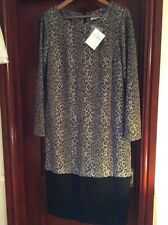 BNWT RRP £60 Gray & Osbourn Size 16 Animal Print Jersey Shift Dress