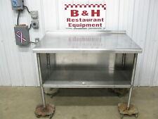 Amtekco 4 Stainless Steel Heavy Duty Kitchen Work Table Cabinet 48 X 30
