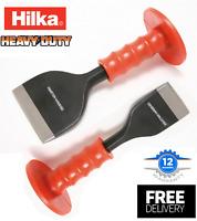 "Hilka Bolster Chisel Rubber Guard for Brick Masonry Various Sizes 2 1/4"" & 4"""