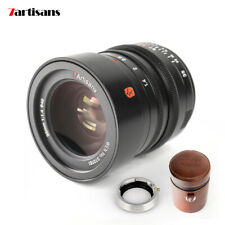 7artisans M35mm F1.4 Full Frame Lens For Leica M Mount Camera with Adapter Ring