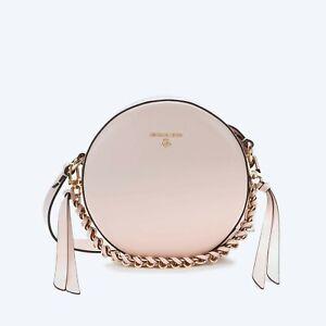 MICHAEL KORS Tasche DELANCEY MD CIRCLE X-Body Leder soft pink