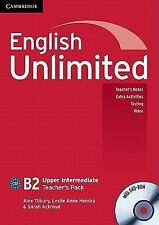 English Unlimited Upper Intermediate Teacher's Pack (teacher's Book With Dvd-...
