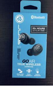 JLab GO Air In-Ear True Wireless Earbuds - Black Brand New
