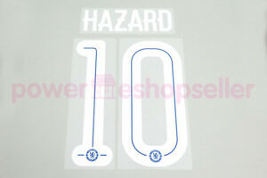 Chelsea 2015/2017 #10 HAZARD Homekit Nameset Printing