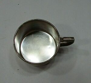 """Tudor Plate Oneida Community Vintage Silverplate Children's Baby 2"""" Cup FREE S/H"""