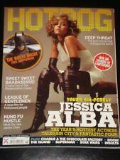 HOTDOG magazine 2003, Jessica Alba, Batman Supplement, Deep Throat, Superman
