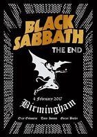 BLACK SABBATH - THE END DVD ~ OZZY OSBOURNE~TONY IOMMI~GEEZER BUTLER *NEW*
