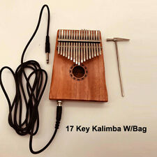 Well-Educated 1pc Kalimba Shoulder Bag Finger Thumb Piano Fiber Case Black Hiking T-shirts