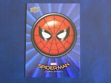 2017 UD Spider-Man Homecoming BLUE FOIL RB-26 Spiderman WALMART EXCLUSIVES