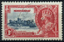 Used Postage Montserratian Stamps