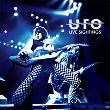 UFO ‎- Live Sightings - 4 x CD + Colored Vinyl Album LP - SEALED Record Box Set