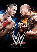 WWE John Cena vs The Rock Poster - Wrestlemania 28 - Wall Art - 11x17 - NEW