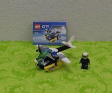 LEGO - Polizei Gefängnisinsel Hubschrauber   ++ komplett ++