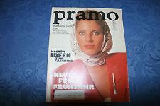 """Original """"Praktische Mode"""" PRAMO 1/1990 DDR Mode Zeitschrift 90er mit Schnitt"""