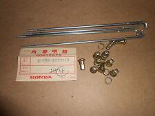 NOS Honda OEM Front Wheel Spoke Set B 1972 XL250 97686-69226 QTY4