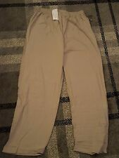 LADIES PJAMA/LOUNGE PANTS (Beige) SIZE 32/34