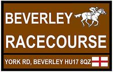 Cheval de Course - 'Road' Signes (Beverley) - Souvenir Nouveauté Magnétique -
