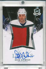 2007-08 07-08 UD The Cup Limited Logos Doug Gilmour Auto/Patch Leafs #43/50