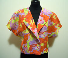 WEINBERG PARIS Camicia Donna Caban Cotton Bolero Woman Shirt Sz.L - 46