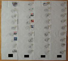 BRD Sammlung 160 Briefumschläge Sonderstempel aus den Jahren 1999 - 2007