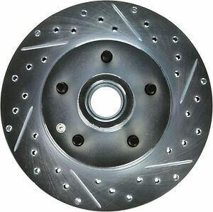 StopTech StopTech 227.66000L Select Sport Drilled and Slotted Brake Rotor; Front