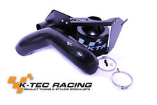 K-Tec Racing Clio 3 RS 197/200 Right Hand Drive Induction Kit Black
