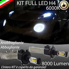 KIT FULL LED PER NISSAN JUKE LAMPADE LED H4 6000K BIANCO GHIACCIO NO ERROR